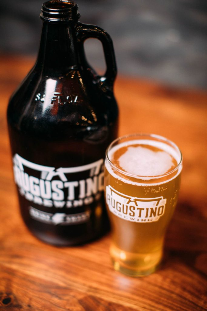 Neighborhood brewed craft beers at augustino brewing
