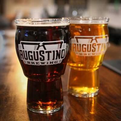 Augustino Brewing Brown and Blonde Beers
