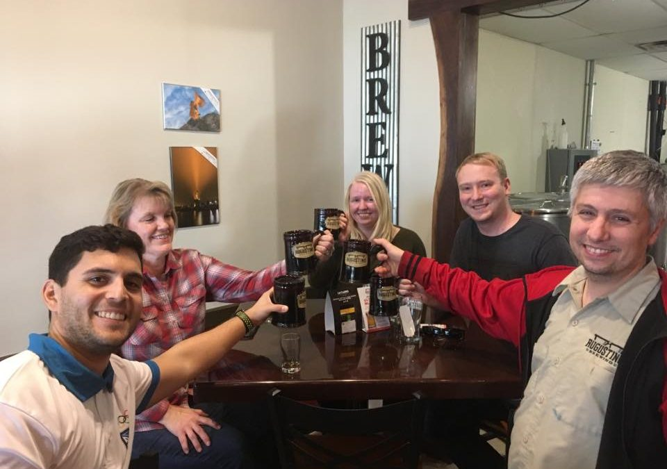 Cheers Augustino Brewing Top Brewpub in US