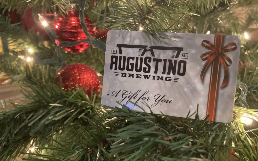 Augustino Brewing Gift Cards Make Great Gifts for the Holidays