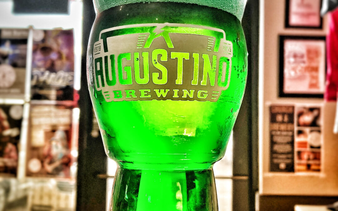 St. Patty's Day Angry Irishman Green Lager