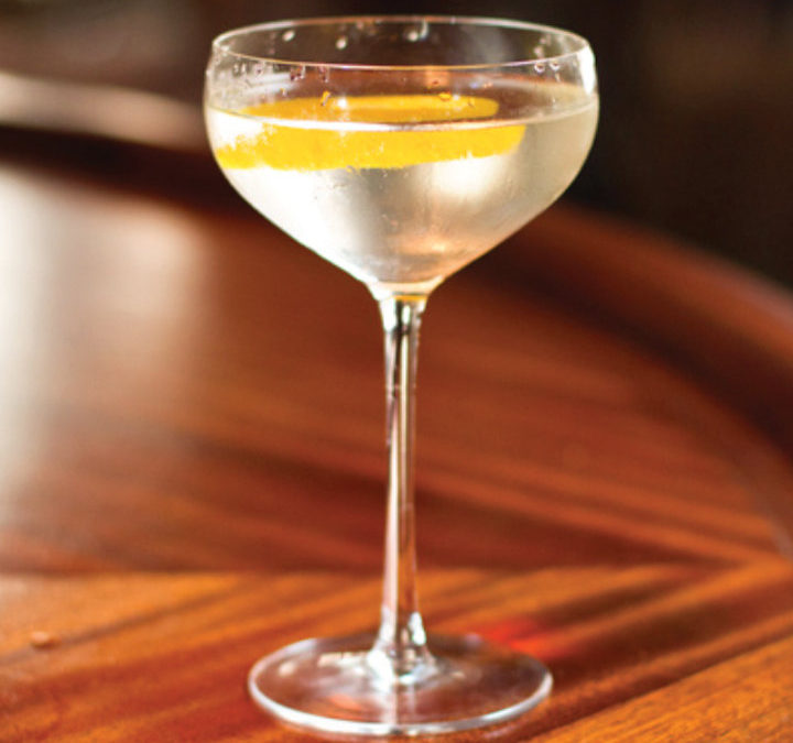 Vesper featured at Augustino Brewing Intro to Mixology